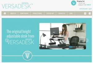 VARIDESK Website