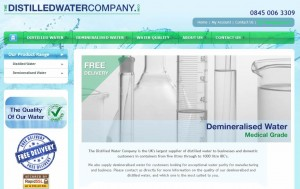 The Distilled Water Company