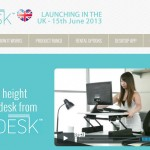 Varidesk UK website
