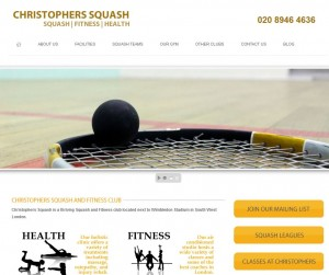 Christophers Squash